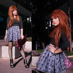 Priscila  Diniz - Romwe Skirt - Never Give Up!