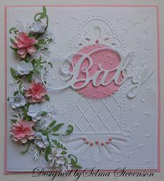 Selma's Stamping Corner and Floral Designs: Baby Card