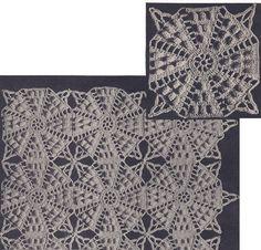 Vintage Crochet PATTERN Motif Bedspread Octagon Popcorn in Crafts, Needlecrafts & Yarn, Crocheting & Knitting Vintage Crochet Dresses, Vintage Crochet Patterns, Crochet Bedspread Pattern, Crochet Motif, Crochet Hook Sizes, Crochet Hooks, Thread Crochet, Crochet Blankets, Bobble Stitch Crochet