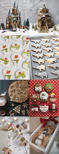 Christmas decor ideas   Новогодний стол: калейдоскоп идей - Ярмарка Мастеров - ручная работа, handmade