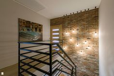 nice not practical Exposed Brick Walls, Bookcase, Stairs, Shelves, Nice, House, Inspiration, Furniture, Home Decor