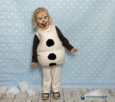 Do you wanna build a snowman? Diy Costumes, Adult Costumes, Costumes For Women, Halloween Costumes, Snowman Costume, Halloween Karneval, Costume Tutorial, Build A Snowman, Olaf Frozen
