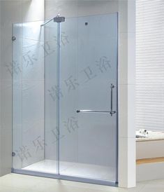 sliding glass shower doors frameless