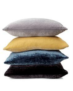 Silk Velvet Cushions, perfect for relaxing