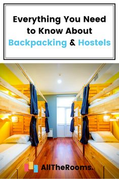 We hear a lot about backpacking & hostels... but what's all the fuss about?