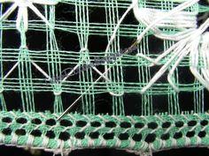TuttoRicamo: Deruta sfilato: come si fa – la retina a punto filino Plant Hanger, Embroidery, Crochet, Blog, Polymer Clay, Women's Work Fashion, Embroidered Cushions, Trapper Keeper, Dressmaking