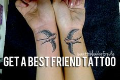 Get best friend tattoos --- OMG NO WAY!!! I totally wanted to do this EXACT tattoo with my best friend. So weird!