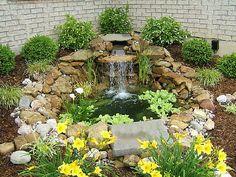 Backyard Ponds And Waterfalls - Bing Images