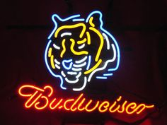 """NFL BENGALS BUDWEISER BEER BAR CLUB NEON LIGHT SIGN (16"""" X 15"""") - Free Shipping Worldwide   ~ Voltage: 100-240v UL Transformers from NeonPro - Workable in all countries - US, UK, Canada, Japan, Australia, European Countries, & Others.  ~ Payment: Paypal / Credit Cards / Western Union.  ~ Delivery Time: 9-15 days to USA/Canada/Japan/Australia/Asian Countries; 12-18 days to European Countries/South American Countries; via a USPS/Hongkongpost/Canadapost tracking number, directly shipped from…"""