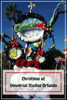 Christmas at Universal Studios Orlando | Universal Studios Florida | Grinchmas | The Grinch | Islands of Adventure