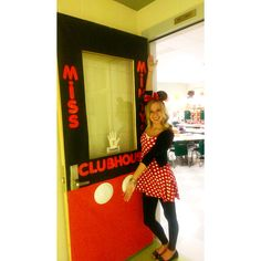 My Mickey Mouse themed door
