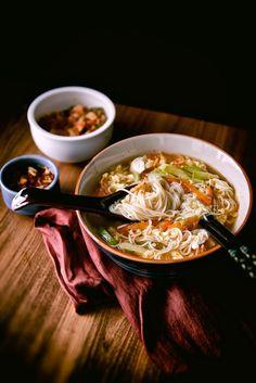 멸치 국물 소면 국수 (Somen Noodles)