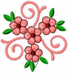Small flower free embroidery design 10 - Flowers free machine embroidery designs - Machine embroidery community
