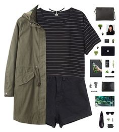 """""""WATCH OUT, BABE // tag"""" by c-hristinep ❤ liked on Polyvore featuring Monki, Steven Alan, H&M, Polaroid, Grown Alchemist, Acne Studios, MANGO, Givenchy, Bershka and OXO"""