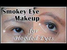 Smokey Eye Makeup for Hooded Eyes (Droopy Eyelids)