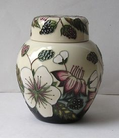 Moorcroft BRAMBLE REVISITED Ginger Jar 769/4 | eBay