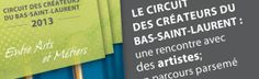 Circuit des créateurs | Métiers d'art/Bas-Saint-Laurent pour découvrir les talents d'ici! Circuit, Bas Saint Laurent, Le Talent, Talents, Boarding Pass, Art, Kunst, Art Education, Artworks