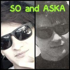 SOくんとASKAさん、似ているな。