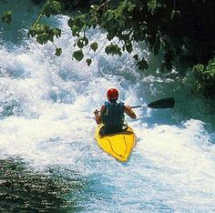Kayaking rapids....one of these days, it's gonna happen!