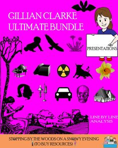 Ultimate Gillian Clarke Bundle - everything you will need for preparing students for the Cambridge IGCSE Poetry examination (scheduled via http://www.tailwindapp.com?utm_source=pinterest&utm_medium=twpin&utm_content=post138739947&utm_campaign=scheduler_attribution)
