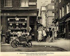 Sheperd market, London.