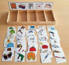 Printable Bugs Matching File Folder Game- Easy Peasy and Fun Preschool Learning Activities, Infant Activities, Educational Activities, Preschool Activities, Teaching Kids, Kids Learning, Montessori Toddler, Montessori Materials, Kids Education