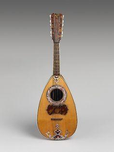 Mandolin  1770, Italy  The Metropolitan Museum of Art