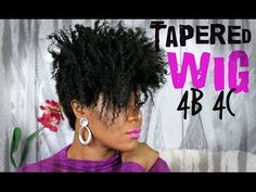 Sensationnel Neye Transformed l 4b/4c tapered wig - YouTube