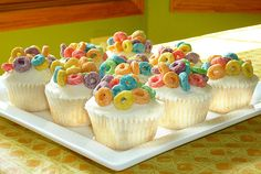 cereal cupcakes.