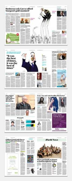 The Scotsman Editorial Design Magazine, Editorial Layout, Magazine Design, Page Design, Book Design, Layout Design, Newspaper Design Layout, Page Layout, Layouts