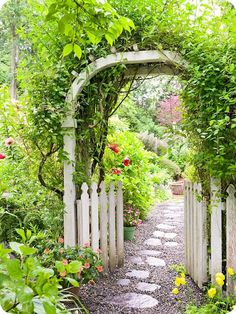 want the garden gate with arbor!