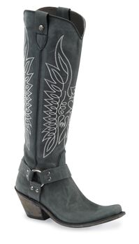 These are the boots you wear to hit the road and kill everybody who had anything to do with your daughters death.