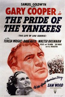 The Pride Of The Yankees - Nominee 1942