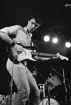 Talking Heads: David Byrne, photo by Gary Gershoff, May 1978