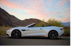 Aston Martin Vanquish Volante: sleek, fast, exclusive