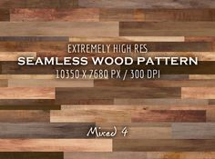 Extremely HR seamless wood pattern M by Fresh Design Elements on Creative Market