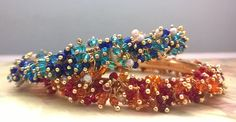 Bangles, Glass beads in mixed colors for that elegant dress, Dream studio Bangles, Beaded Bracelets, Dream Studio, Color Mixing, Glass Beads, Elegant, Colors, Dress, Accessories