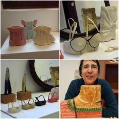 ecm* Apron, Collage, Ceramics, Ceramica, Collages, Pottery, Collage Art, Ceramic Art, Aprons