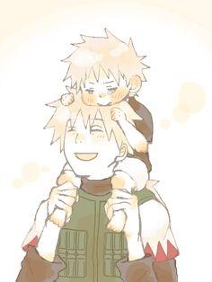 Kakashi & Sakumo