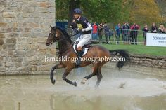 William Fox Pitt - Chatsworth Horse Trials 2013
