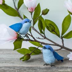 If you want to incorporate a little songbird friend into your home decor, making a needle felted bluebird is a wonderful way to do so. Plus you get to exp..