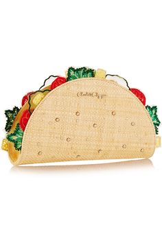TACO clutch by Charlotte Olympia. I love this!