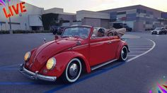 Tari Peña, from La Puente, California. Member of DubFolks So. Cal Vw Club. Her fully restored 1961 Indian Porsche Red VW Convertible, Freeway flyer transmission, 1200 cc power engine, 7″ deep…