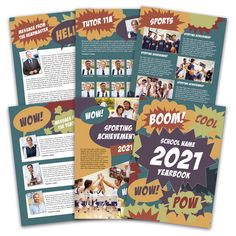 We supply a large selection of professionally prepared School Yearbook Design Templates for Microsoft Publisher, Microsoft Powerpoint and Adobe InDesign. For more information visit our website.