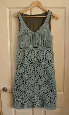 handysandy: Gehaakte jurk