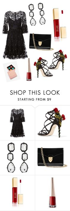 """""""season's affair"""" by ssakshis on Polyvore featuring Needle & Thread, Dolce&Gabbana, AMBUSH and Aspinal of London"""
