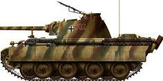Panzerkampfwagen V Panther . # 54