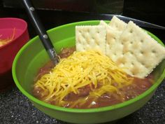 Easy and Mild Chili Recipe.... only a few ingredients!