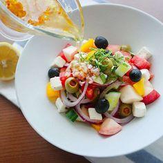 Caprese Salad, Fruit Salad, Cobb Salad, Salad Dressing, Ketogenic Diet, Salads, Brunch, Food And Drink, Cooking