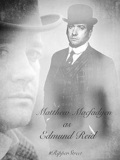 Edmund Reid in Ripper Street Season 1